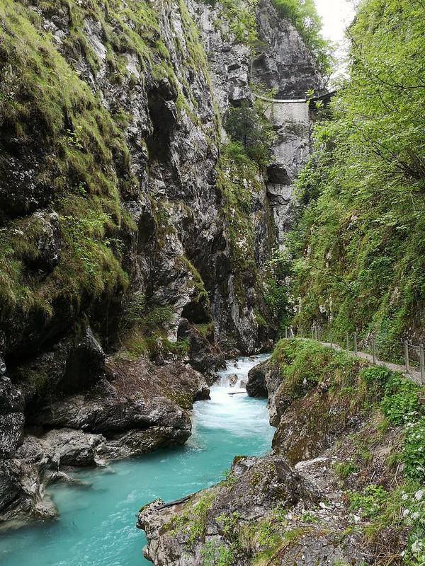 Tolminin rotko Slovenia