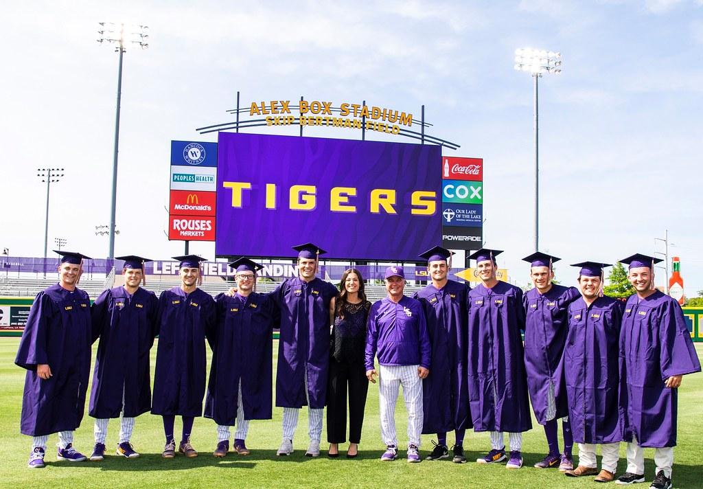 LSU Baseball 2019 Graduating Class