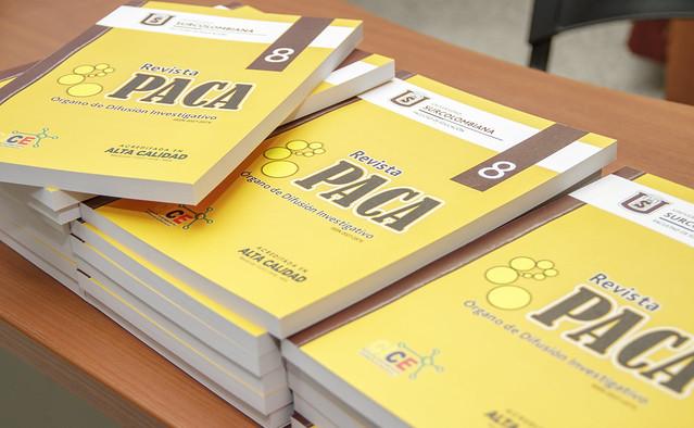 Lanzamiento Revista Grupo PACA No. 8