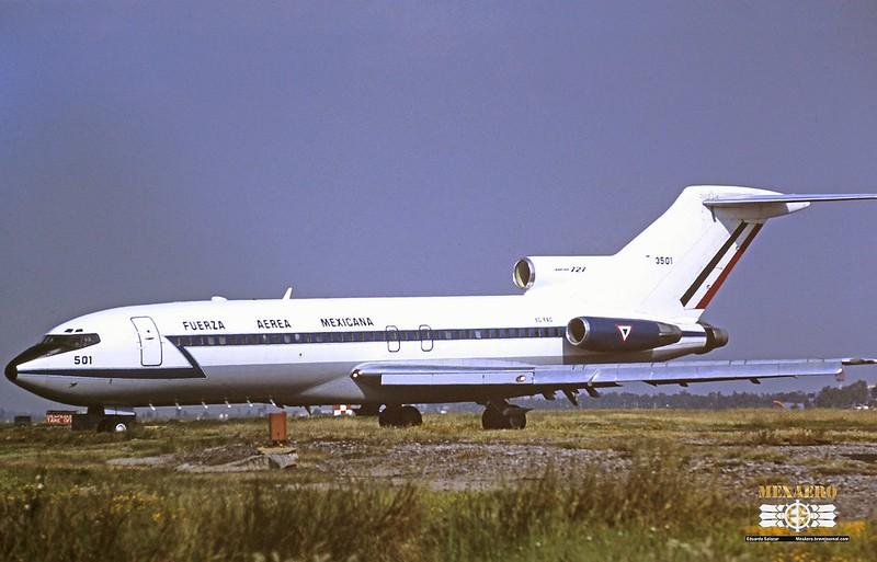 Fuerza Aérea Mexicana / Boeing 727-14 / XC-FAD
