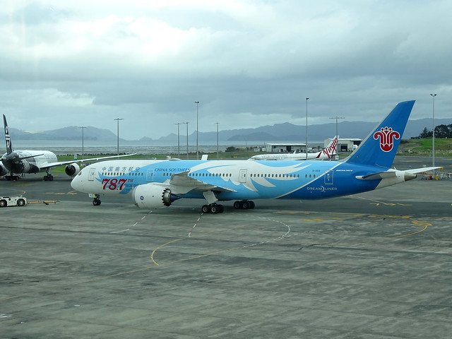 China Southern Airlines Boeing 787-9 B-1168 '787th 787'