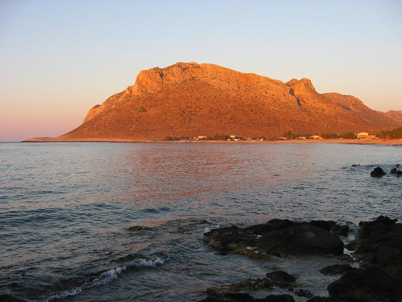 morning light on Stavros mountain, Crete