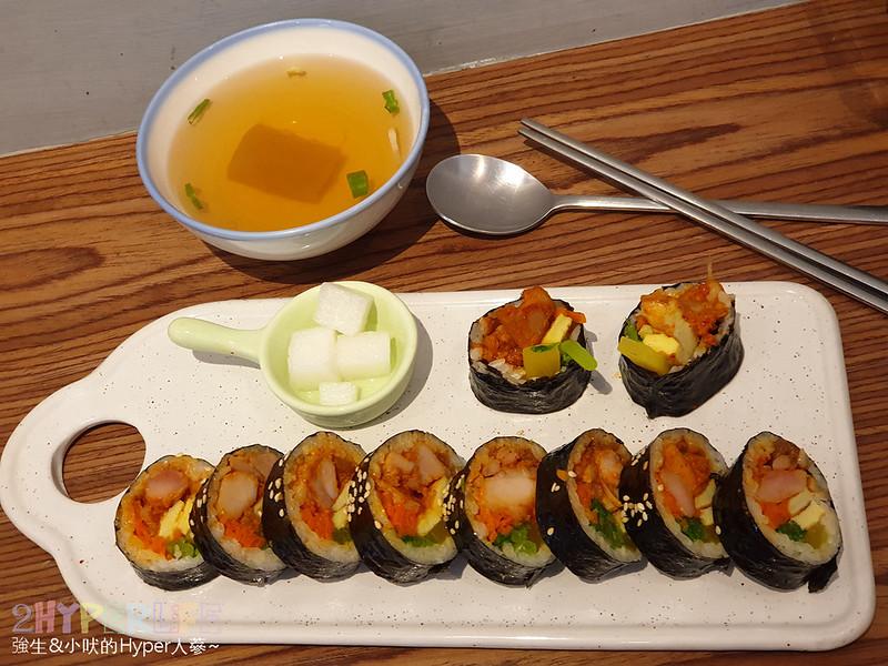 46903622294 05d7a9524c c - 中友百貨旁平價韓式料理~KBAB 大叔的飯卷 | 小小店面總是塞滿人,想吃飯卷是不錯的選擇哦!