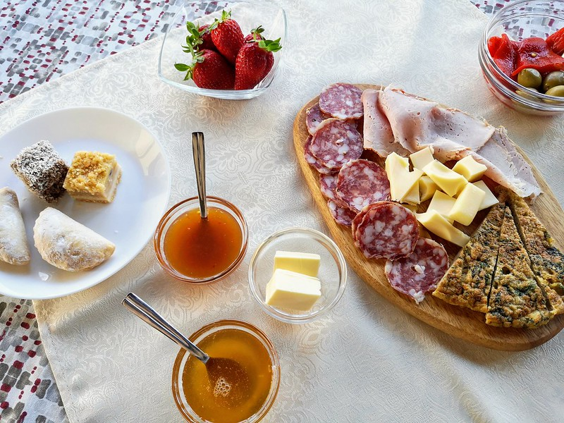 Breakfast Pintar wine estate