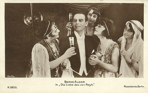 Bernd Aldor in Die Liebe des van Royk (1917)