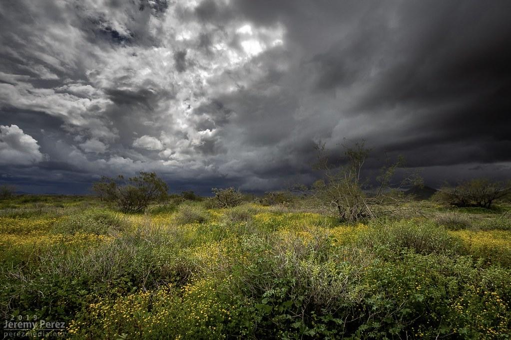 12 March 20189 — Phoenix, AZ — Storms over the desert