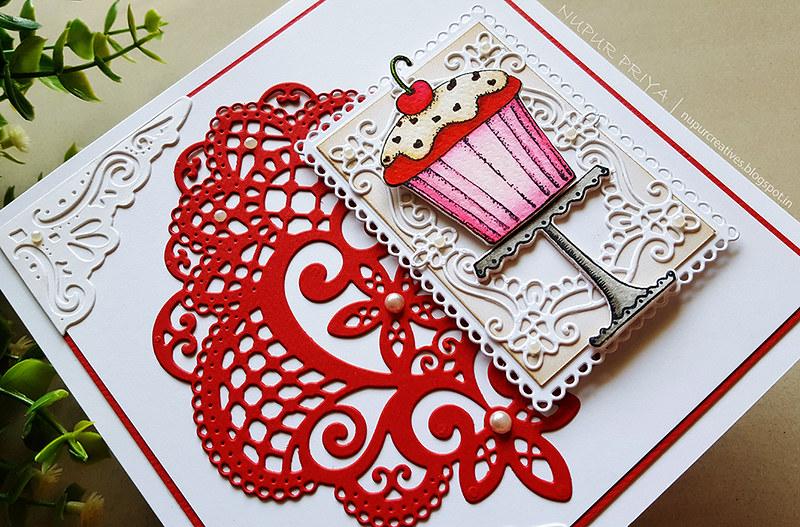 Zero Calorie Red Velvet Cupcake Card 2
