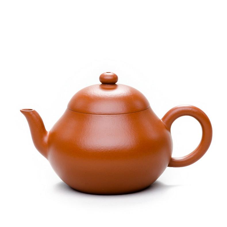 Yixing Teapot Capacity around 110CC Made from Zhao Zhuang Zhu Ni Red Mud