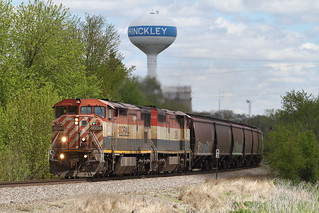 BCOL 4604 west in Hinckley, Illinois on May 10, 2019.