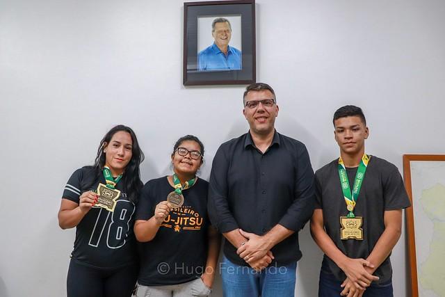 10.05.19. Medalhas no Campeonato Brasileiro de Jiu-Jitsu