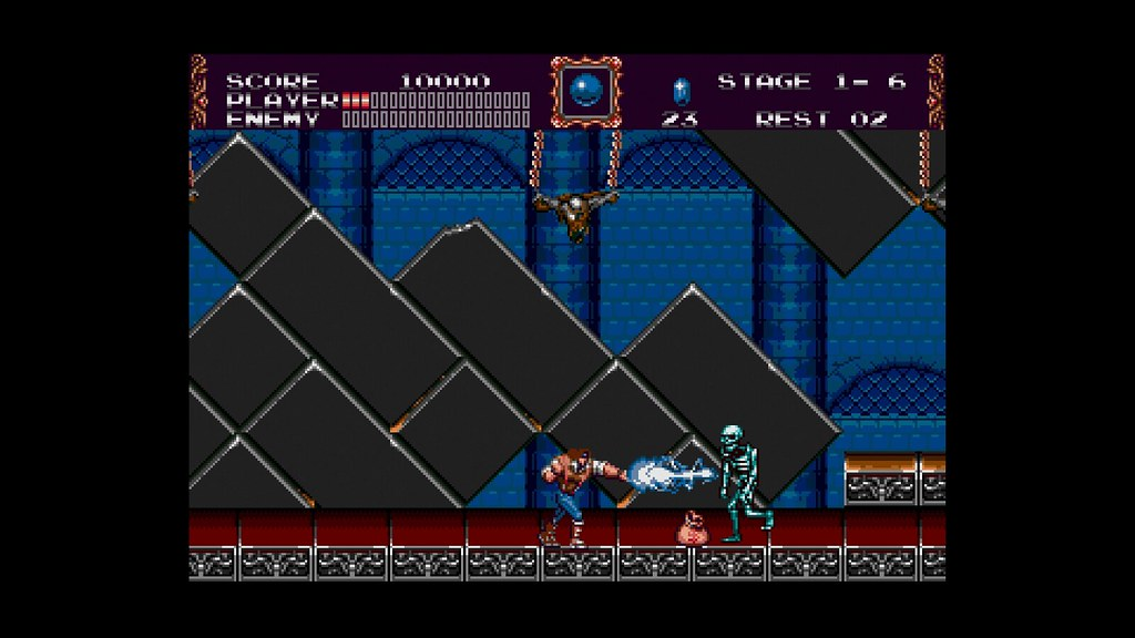 Konami's new Castlevania collection has lots of variety
