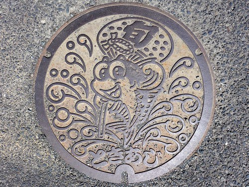 Matsuura Nagasaki, manhole cover 4 (長崎県松浦市のマンホール4)