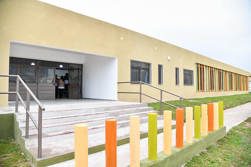 Inauguración del edificio para la Educación Especial de Chicoana