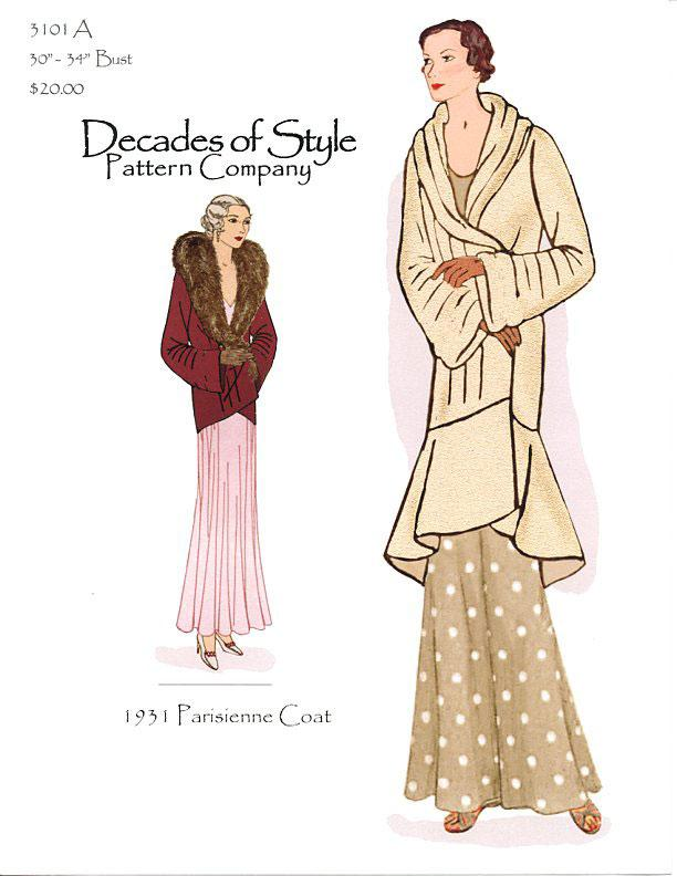 3101 Parisienne Coat Decades of Style