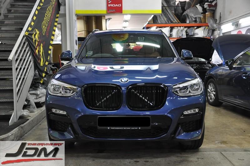 Berühmt NEW!!! BMW X3 G01/ X4 G02 Single & Double Slate Kidney Grill &RF_57