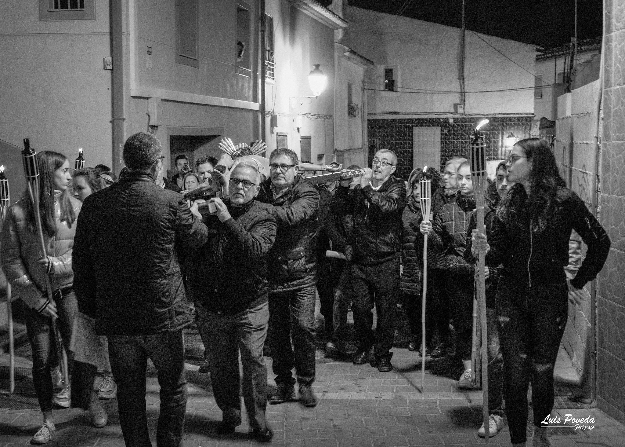 (2019-04-12) - X Vía Crucis nocturno - Luis Poveda Galiano (02)