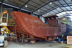 New build fishfarm boat