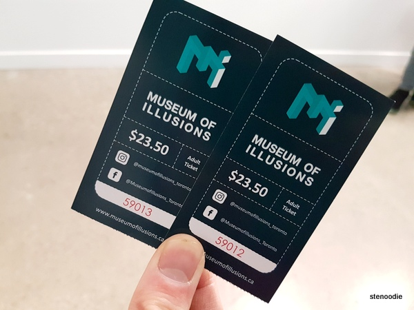 Museum of Illusions Toronto tickets