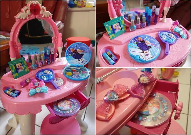 冰雪奇緣化妝美妝組 兒童彩妝 無毒化妝品 (8)