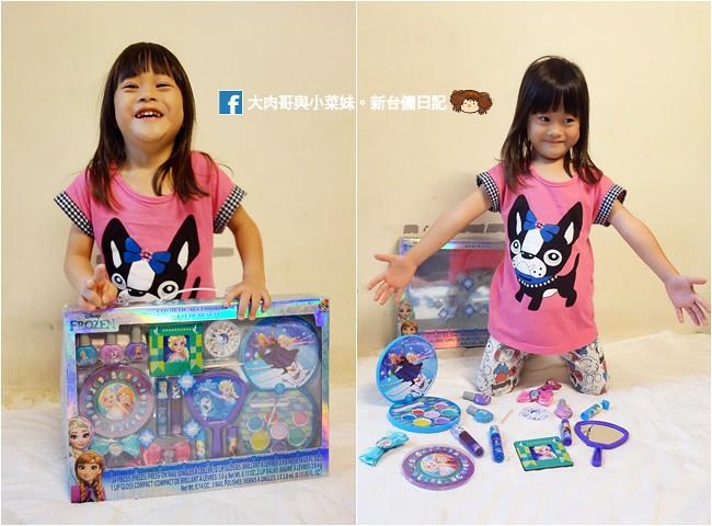 冰雪奇緣化妝美妝組 兒童彩妝 無毒化妝品 (2)