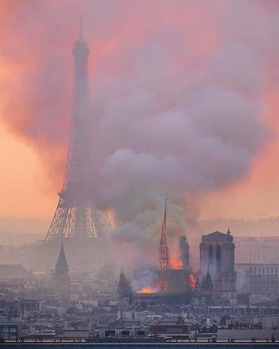 Notre Dame mintha csak Európa szimbóluma lenne