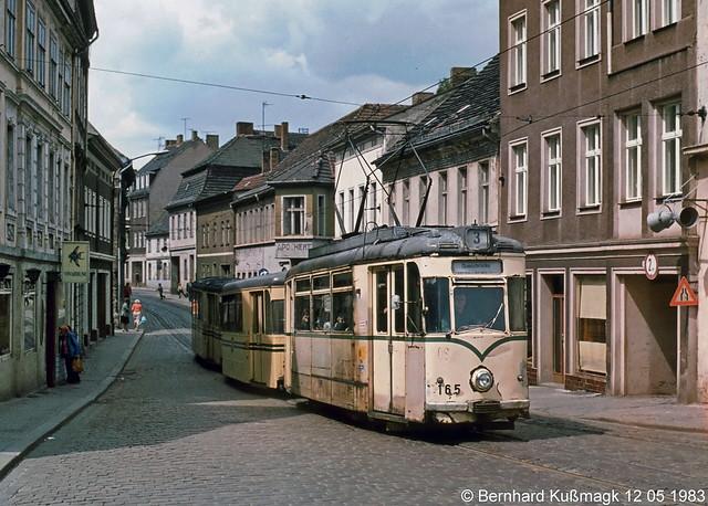 Europa, Deutschland, Brandenburg, Brandenburg an der Havel, Altstadt, Ritterstraße Ecke Am Salzhof