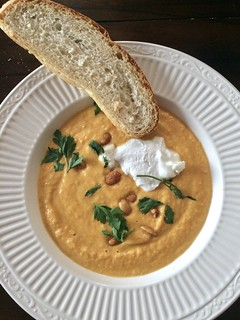 Carrot Tahini Soup