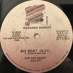 ROXANNE SHANTE:THE DEF FRESH CREW(LABEL SIDE-B)
