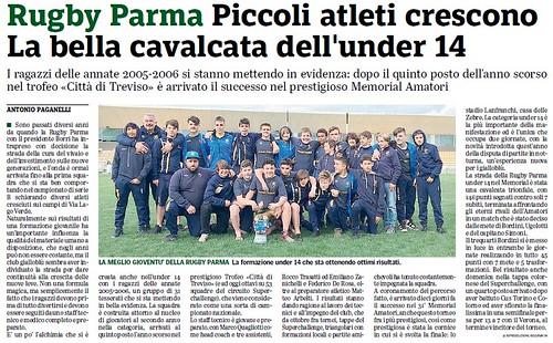 Gazzetta di Parma 17.04.19 - Speciale n. 5 pag 53 - UNDER 14