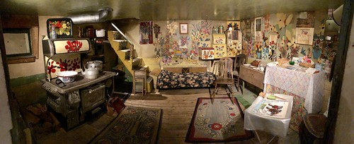 Maud Lewis House Interior Pano