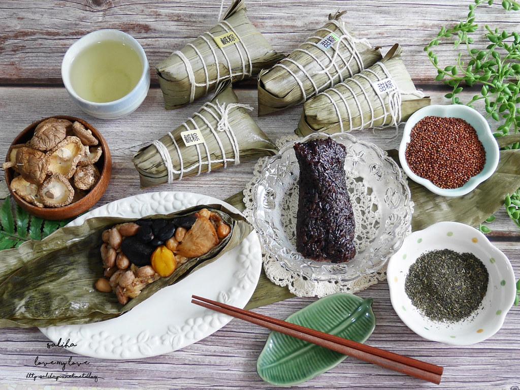 好吃素食禮盒推薦百喬食品素粽甜粽 (13)