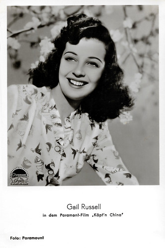 Gail Russell in Captain China (1950)