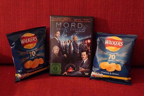 "Walkers Cheese & Onion zum Film ""Mord im Orient Express"""