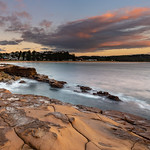 11. Aprill 2019 - 7:19 - 3 Portrait Landscapes Stitched - Capturing the sunrise from Avoca Beach on the Central Coast, NSW, Australia.