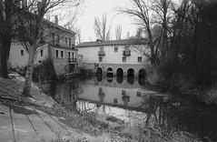 Peñafiel, río Duratón. (papel)