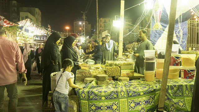Bargaining in a Cairo Ramadan market