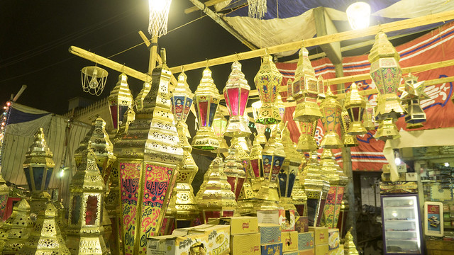 Egyptian Ramadan lanterns sold in Cairo