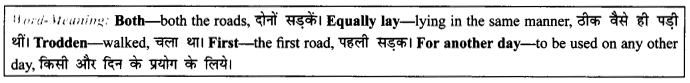 NCERT Solutions For Class 9 English Literature Chapter 7 The Road Not Taken 6