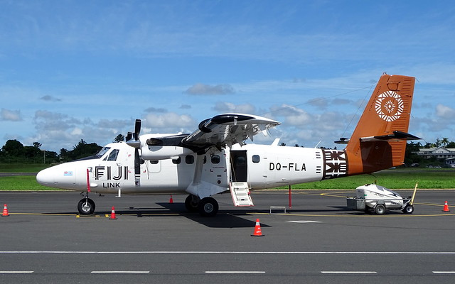 Fiji Link Viking DHC-6-400 Twin Otter DQ-FLA