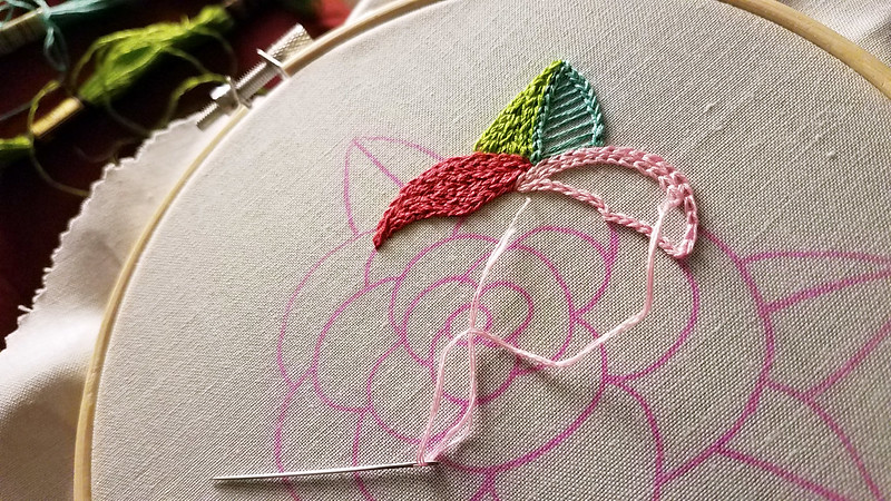 Lolli and Grace Beginner Rose pattern