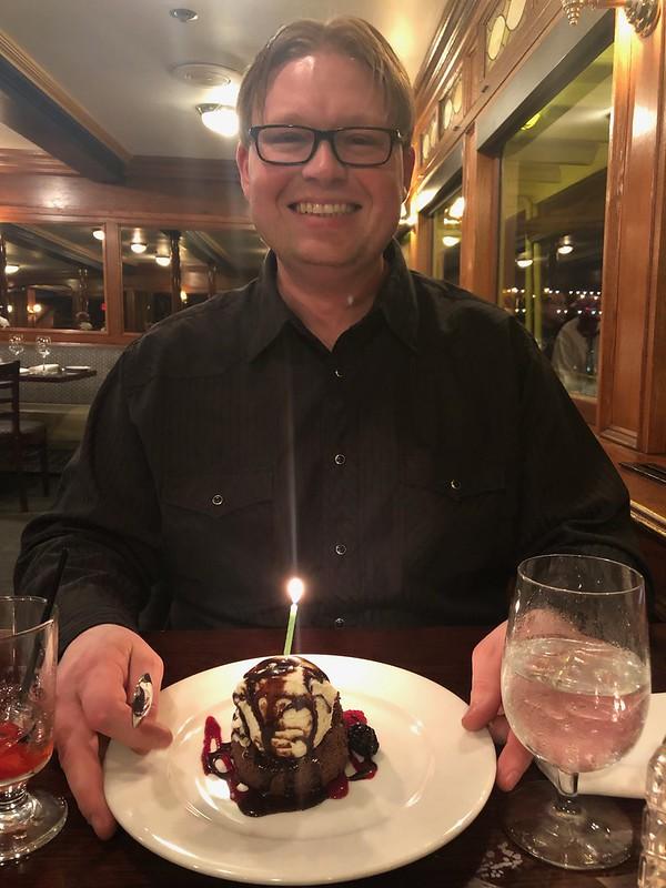 Joshua's Birthday on the Delta King