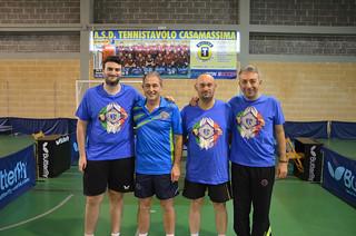 La Serie C1 C con Pellegrini, Dell'Omo, Di Giuseppe, De Carolis