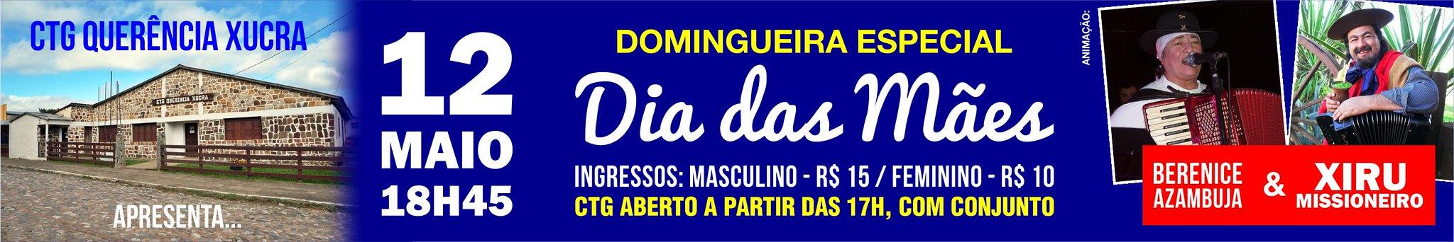 12-05 Domingueira das Mães - CTG Querência Xucra