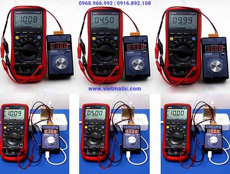 Máy tín hiệu cầm tay đa năng hoạt động với nguồn cấp ngoài 5V