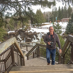 Walking around at Kakabeka Falls