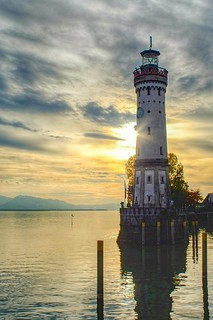 Leuchtturm Lindau, Lake Constance