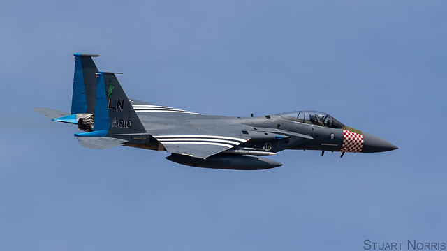 F-15C Eagle 84-0010 - 493rd Fighter Squadron RAF Lakenheath