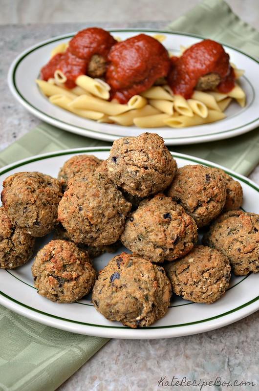 Eggplant Meatballs 1