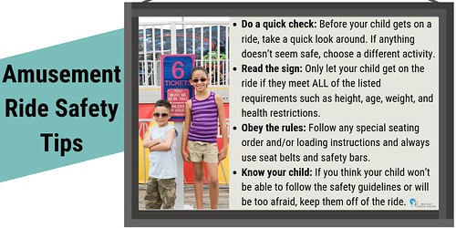 Amusement Ride Safety Tips (Kids by Sign)  - Twitter | by preventchildinjury