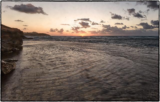 Sunrise, Poipu Cliffs, Kauai.